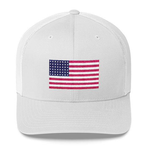 USA Flag Classic Trucker Hat
