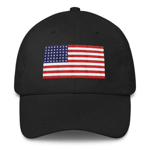 USA Flag Classic Dad Hat