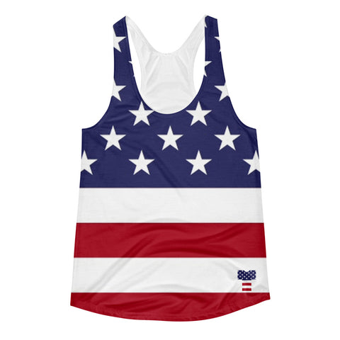 Stars and Stripes Logo Ladies' (Racerback) Tank