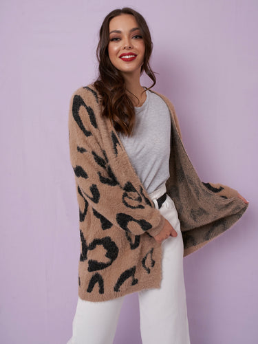 Thinking Of You Cardigan - Brown
