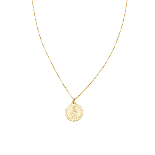 JOLIE & DEEN Mary Coin Necklace