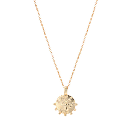 JOLIE & DEEN Willow Coin Necklace