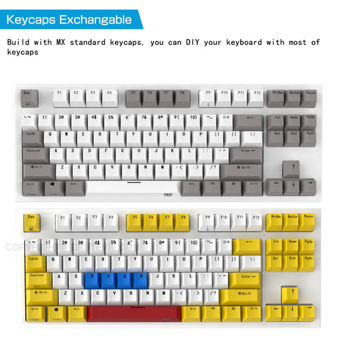 IP68-108key 2019 NIZ IP68 Newest Water-Poof Electrostatic Capacitive Keyboard Gaming Keybaord Can be Soaked in The Water,Cherry MX,PBT keycaps