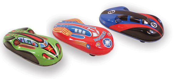 Display of 12 Tin Racers - Playsets & Playscapes - Vilac - kidstoyswarehouse