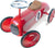 Red Ride On Classic Toy Car by Vilac