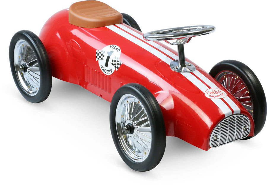 Red Racing Ride On Car by Vilac