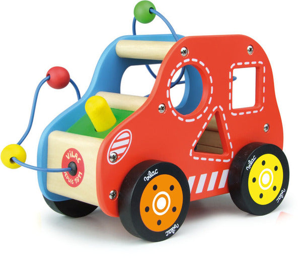 Multi Activity Car by Vilac