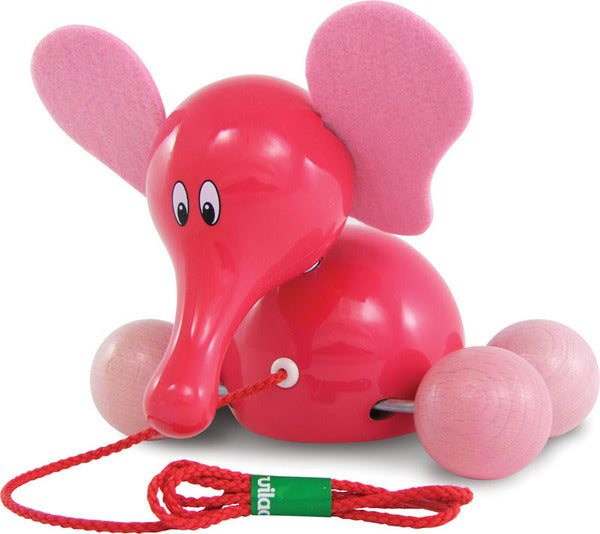 Fanfan The Elephant Pull Toy by Vilac - Push and Pull - Vilac - kidstoyswarehouse