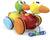 2 waddle ducks pull toy - Push and Pull - Vilac - kidstoyswarehouse
