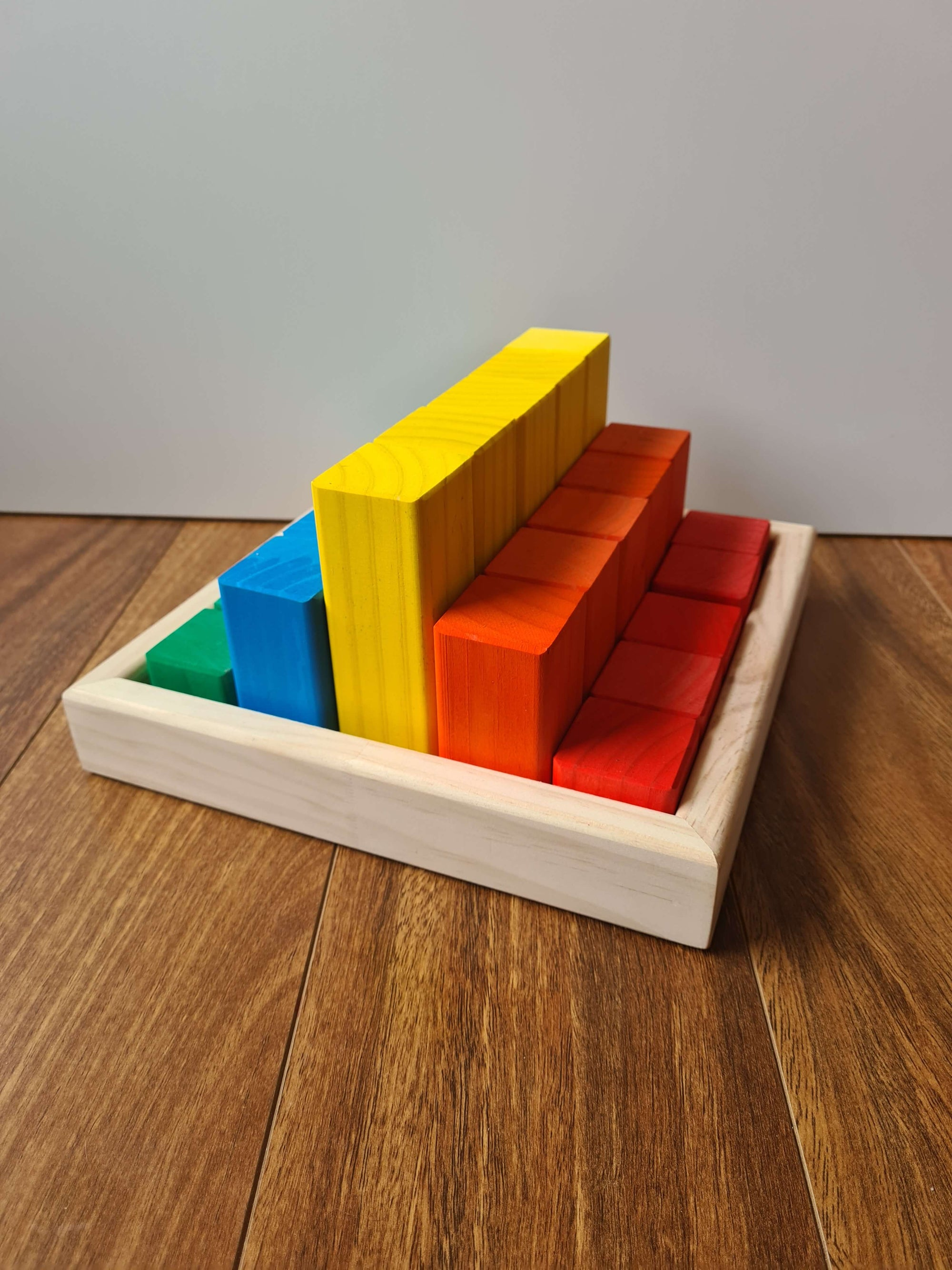 Coloured Building Blocks – 25 Piece Kit - Small
