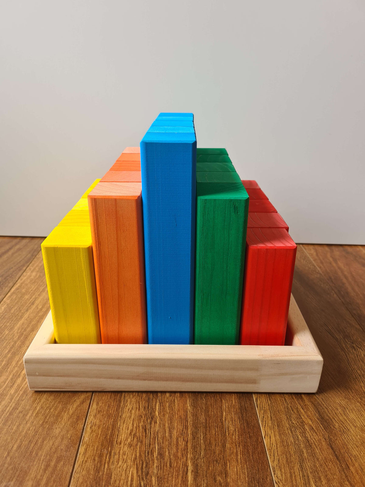 Coloured Building Blocks – 25 Piece Kit - Large