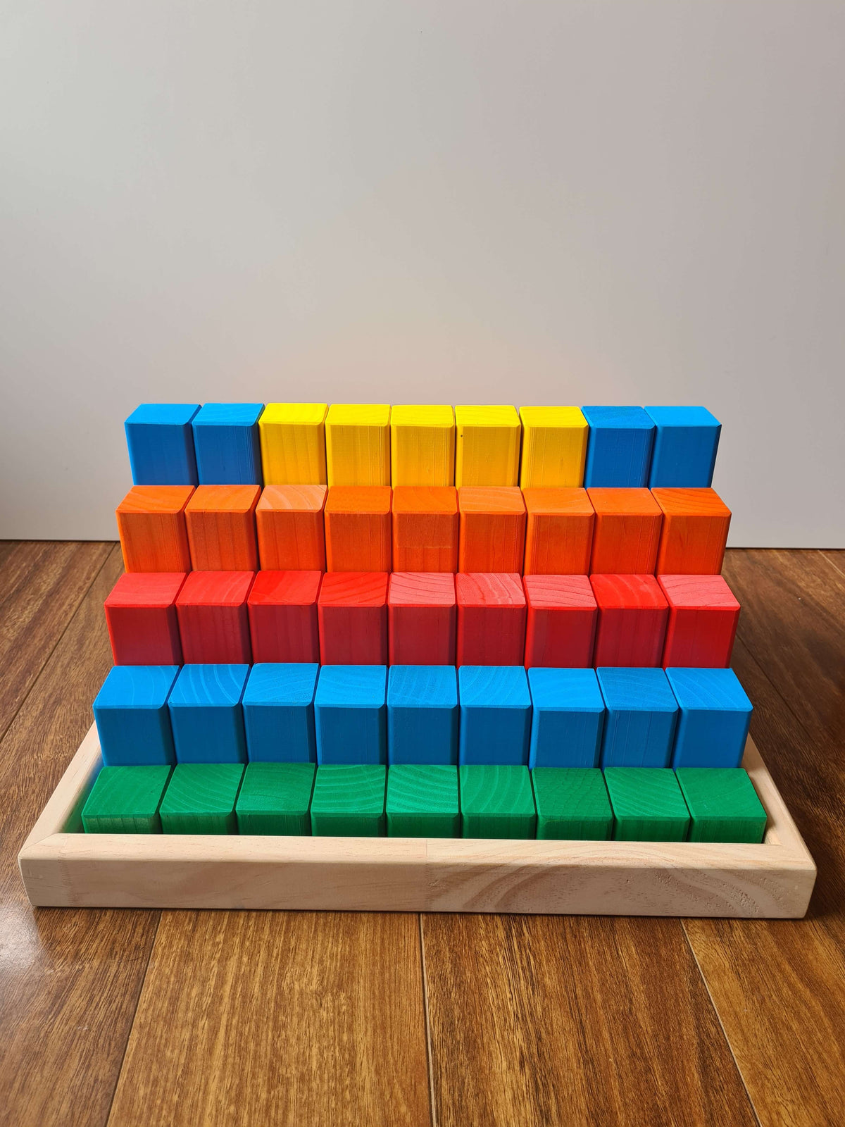 Coloured Building Blocks – 81 Piece Kit