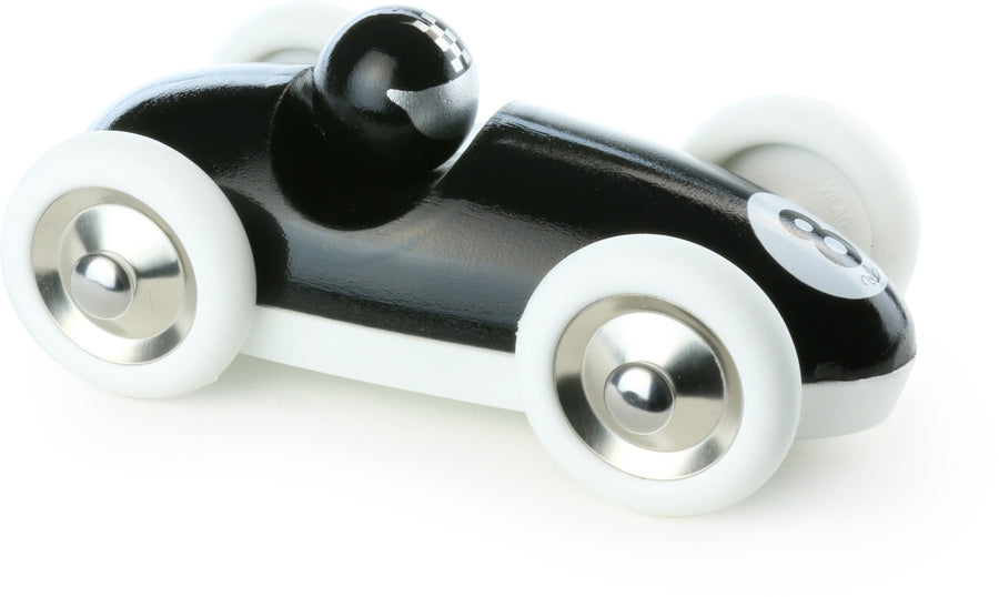 Black Roadster Wooden Toy Car - Toy Vehicles - Vilac - kidstoyswarehouse