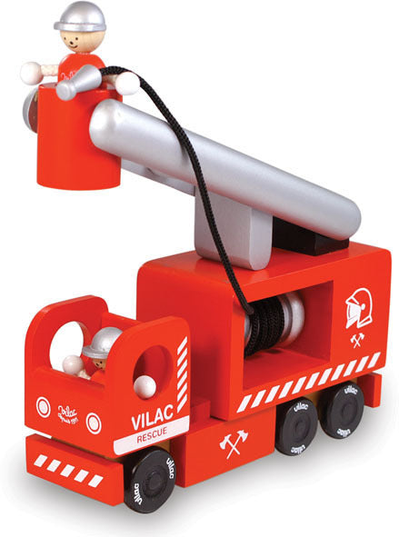 Fire Engine by Vilac - Playsets & Playscapes - Vilac - kidstoyswarehouse