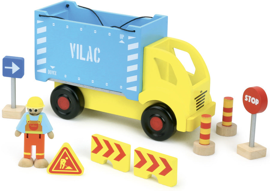 Container Truck and Accessories Set - Playsets & Playscapes - Vilacity - kidstoyswarehouse