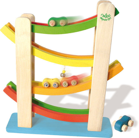 Car Tower by Vilac - Playsets & Playscapes - Vilac - kidstoyswarehouse