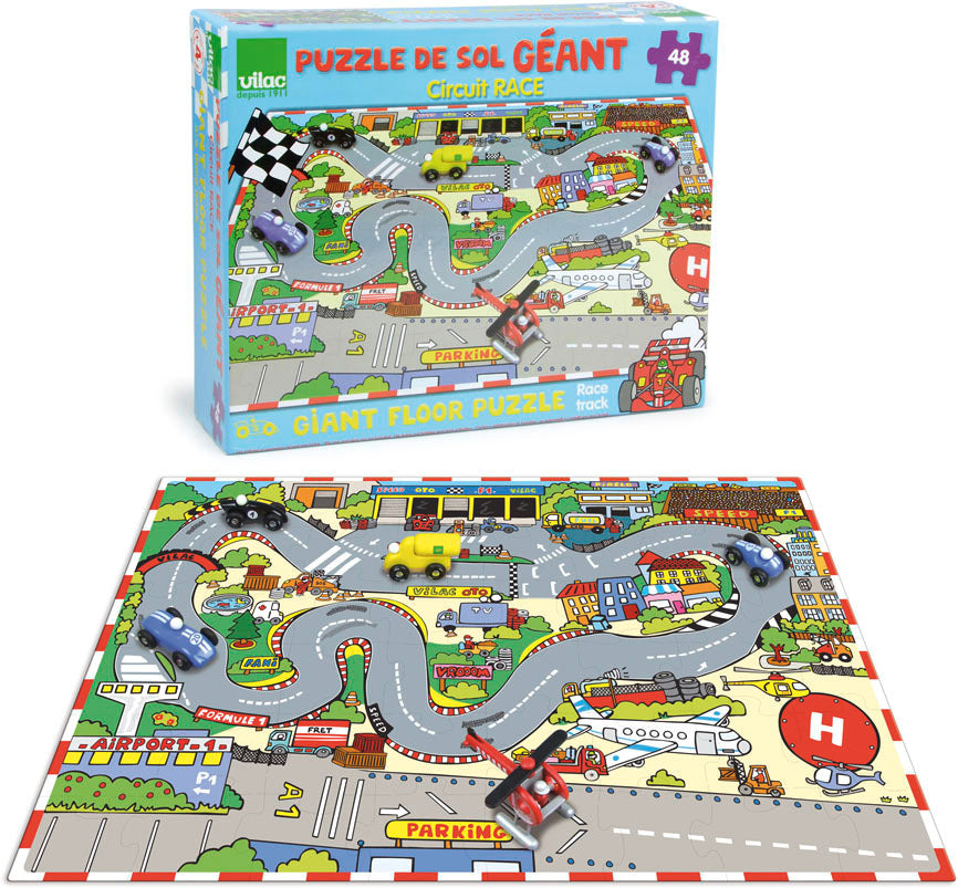 Giant Jigsaw Puzzle Play Mat - Puzzles - Vilac - kidstoyswarehouse