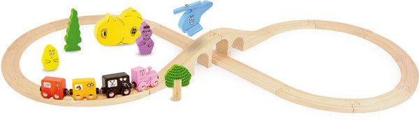 Barbapapa Train Set by Vilac - Pretend Play - Vilac - kidstoyswarehouse