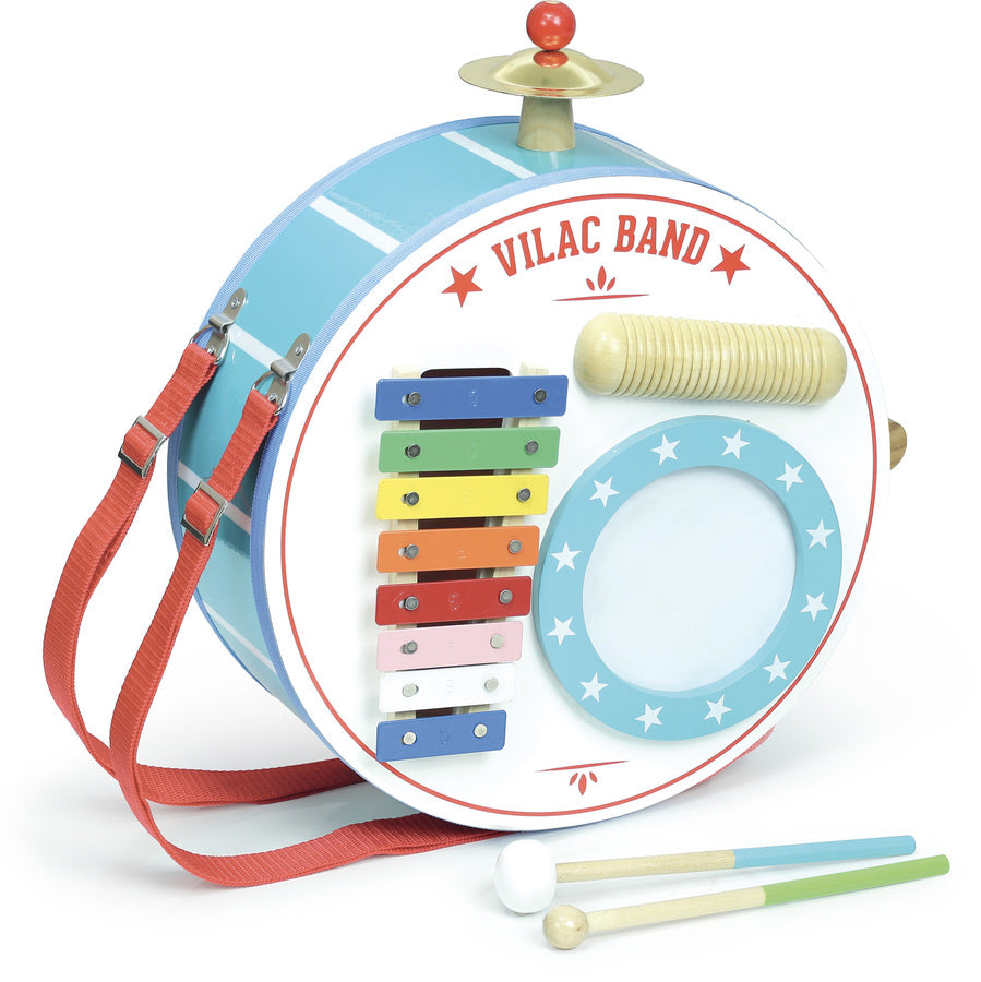 One-man-band Musical Toy