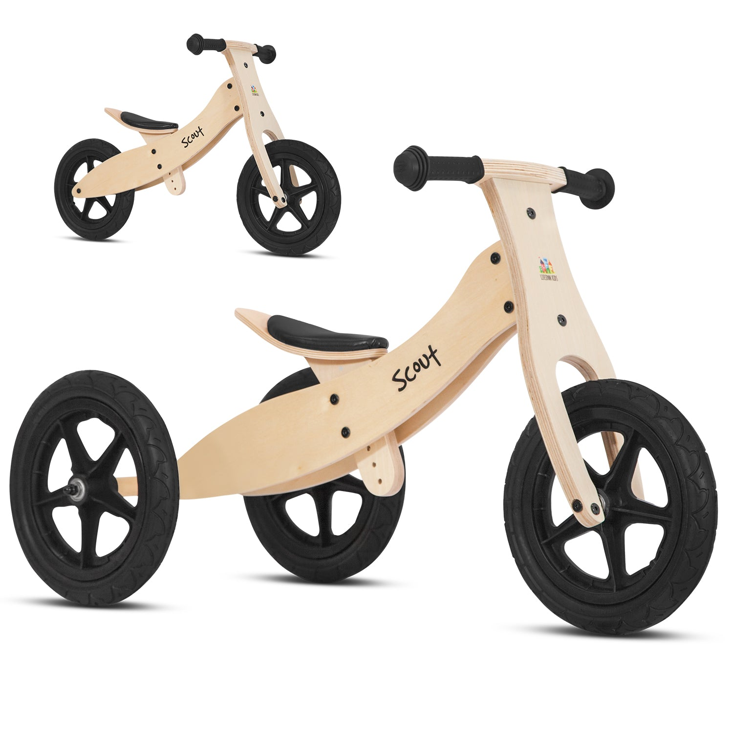 Lifespan Kids Scout 2-in-1 Balance Bike & Trike
