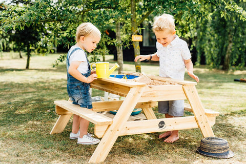 Surfside Sand and Water Table (Natural) by Plum Play