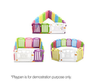 Cuddly Baby Extension Panel / 2 Pieces Plastic Toddler Fence