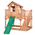 BYD Scenic Heights Cubby House with 1.8m Slide