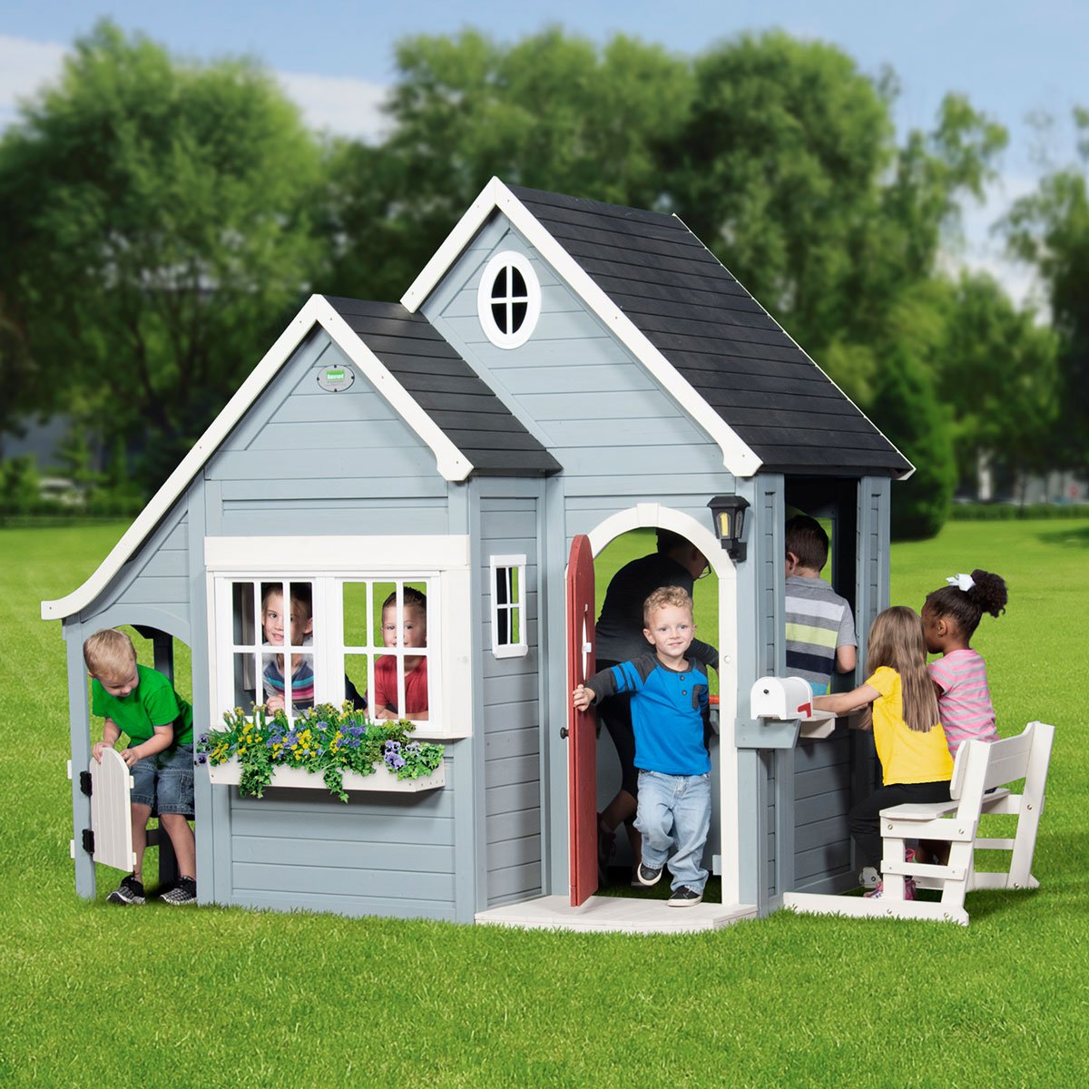 BYD Spring Cottage Cubby House