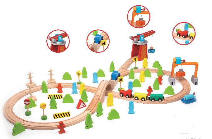 Classic World 75 Train Set