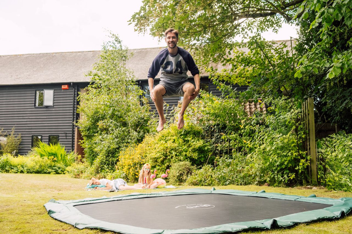 Square In-Ground Trampoline 11ft