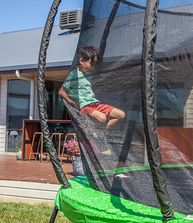Lifespan Kids HyperJump3 10ft Spring Trampoline