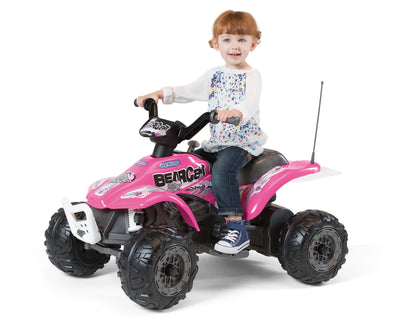Peg Perego Corral Bearcat Quad Bike Pink 6V