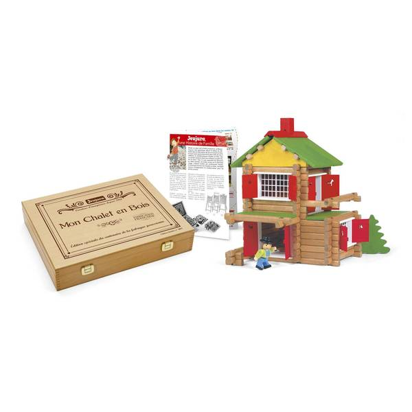 Barn - 135 Piece Wooden Construction Set - Roleplay - Jeujura - kidstoyswarehouse