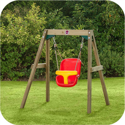 Baby Wooden Swing Set