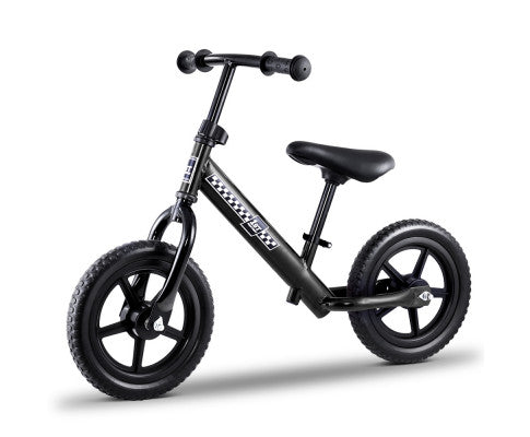 "Kids Balance Bike 12"" Black"