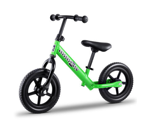 "Kids Balance Bike 12"" Green"