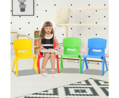 Kids Play Chair Set of 4 by Keezi