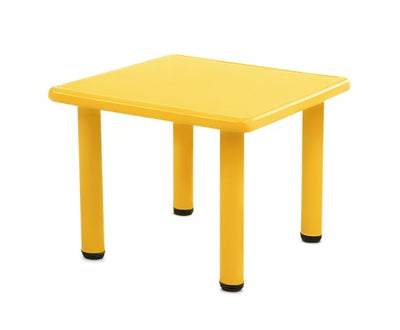 Kids Table Study Desk - Yellow by Keezi