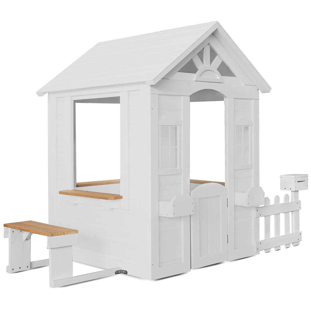 Lifespan Kids Teddy Cubby House in White (V2)