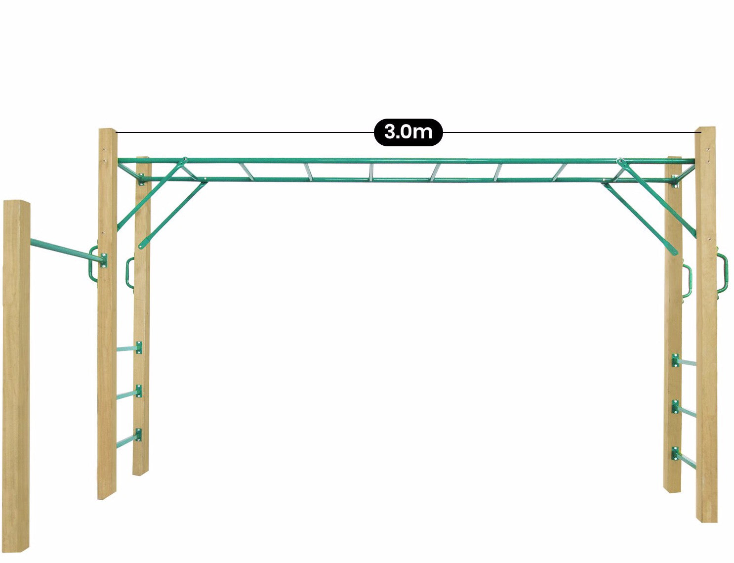 Lifespan Kids Amazon Monkey Bars Only (3.0m)