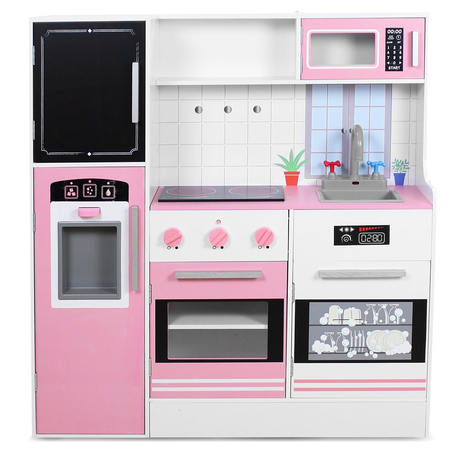 Lifespan Kids Bona Appetit Pink Interactive Play Kitchen