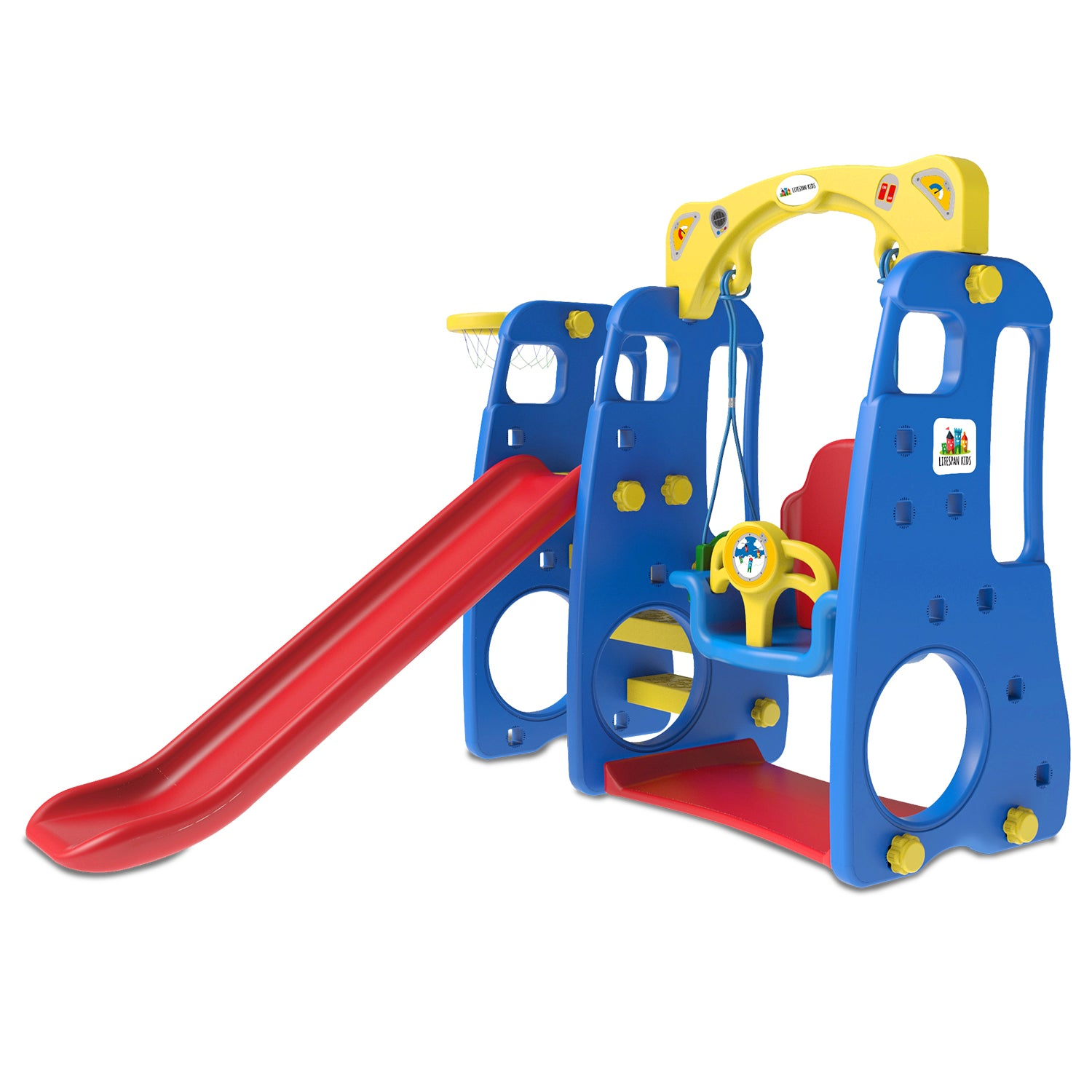 Lifespan Kids Ruby 4 in 1 Slide and Swing