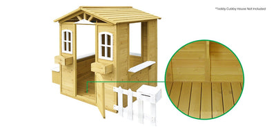 Lifespan Kids Timber Floor For Teddy Cubby House