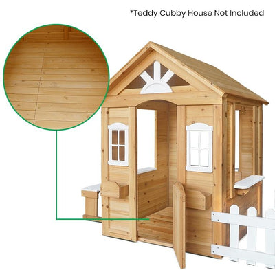 Lifespan Kids Teddy Cubby House Floor Only (V2)