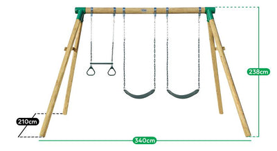 Lifespan Kids Wesley Swing Set