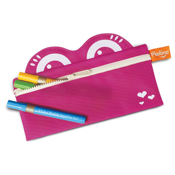 Mess Eaters: Pencil Case - Pink by P'kolino