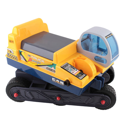 Kids Ride On Excavator - Yellow