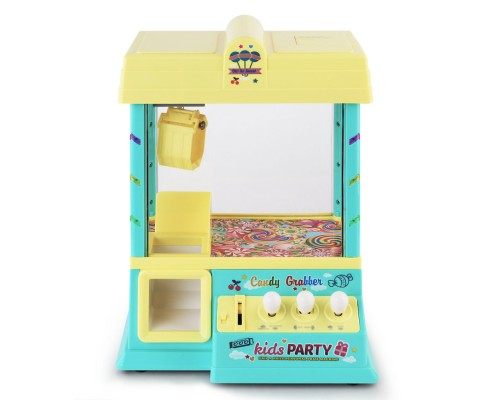 Kids Carnival Claw Machine - Yellow by Keezi