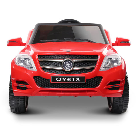 Rigo Kids start button Ride On Car (Mercedes Benz ML450 Replica) - Red with Free Customized Plate