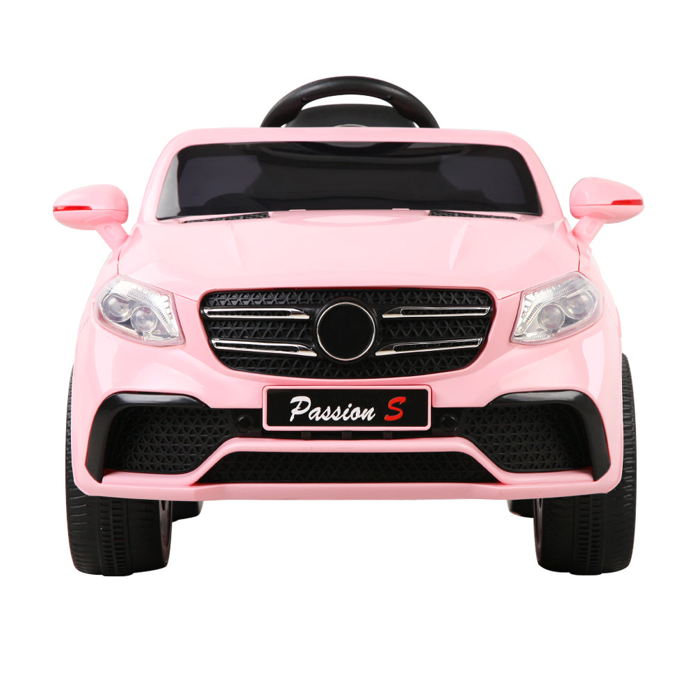 Rigo Kids Ride On Car (Mercedes Benz GLE63 Replica) - Pink with Free Customized Plate